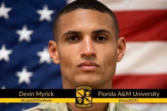 Cadet of the Week: Devin Myrick
