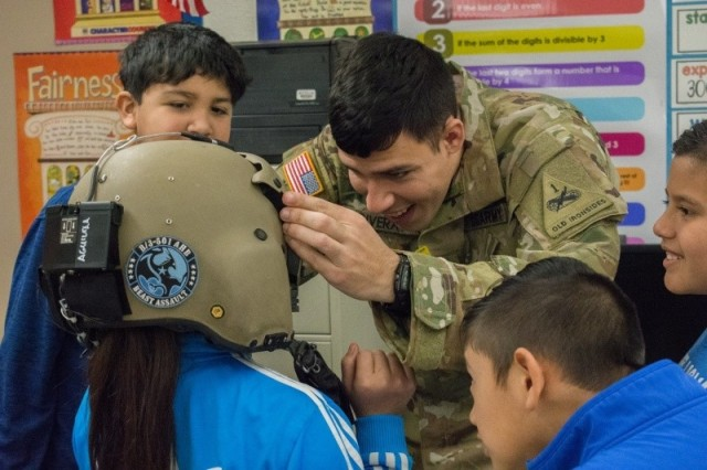 Iron Eagles attend Career Day