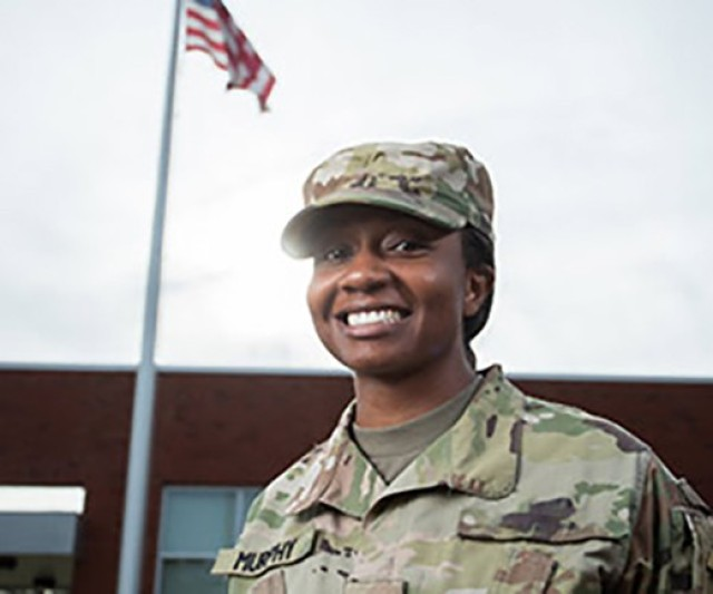 Fort Leonard Wood Soldier enjoying her Green-to-Gold challenge