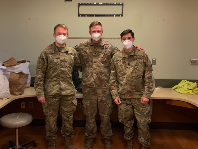 Cadet Crowe and UConn Army ROTC Alumni activated into Connecticut Army Reserve National Guard