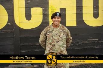 Cadet of the Week: Matthew Torres