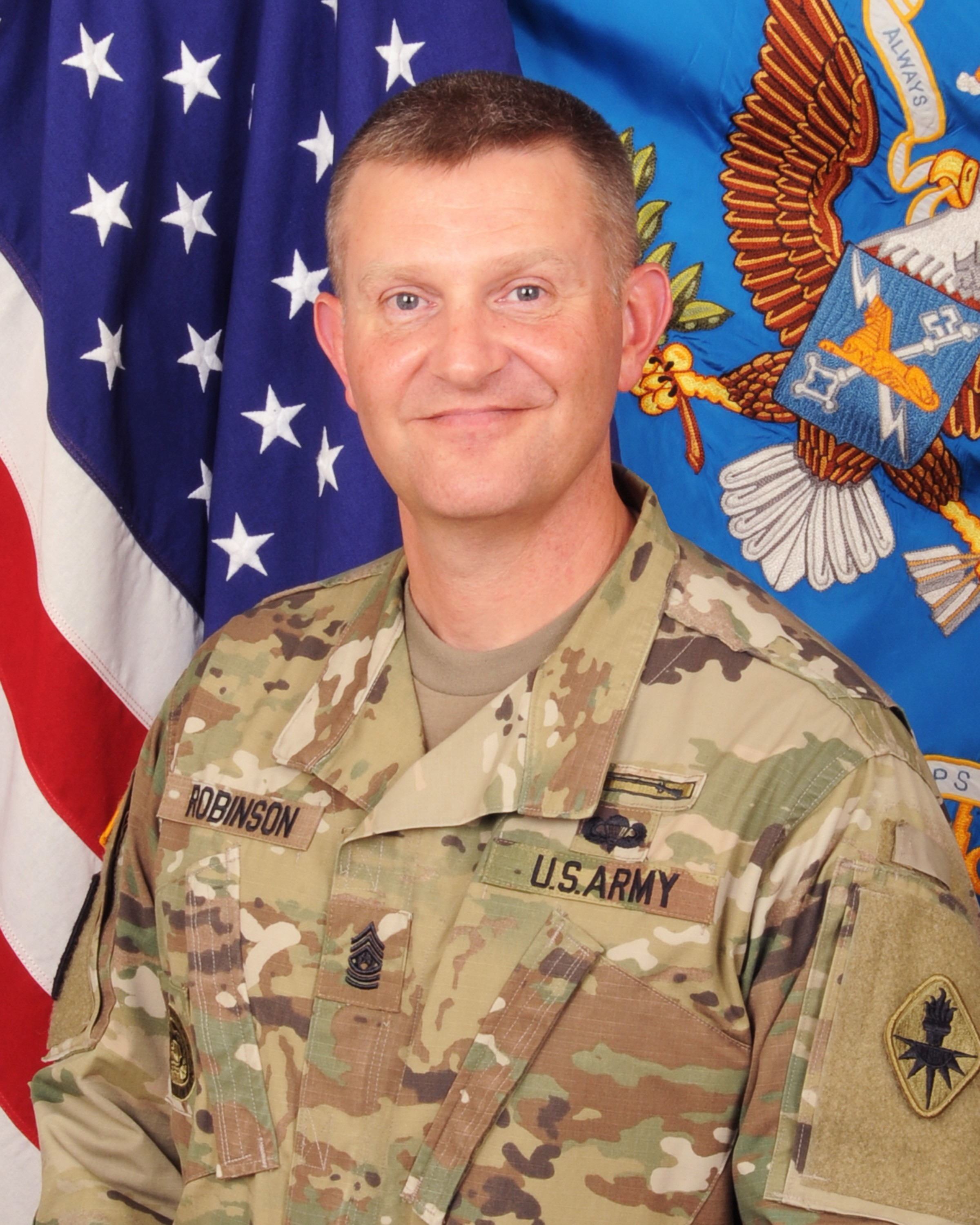 Command Sgt. Maj. Warren K.  Robinson