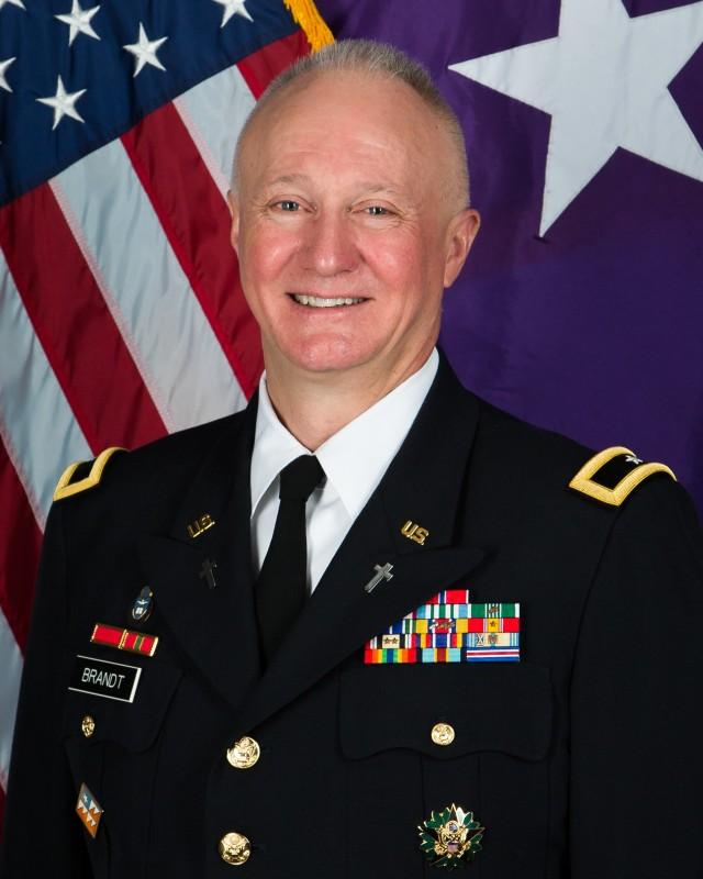"""Chaplain (Brig. Gen.) Kenneth """"Ed"""" Brandt"""