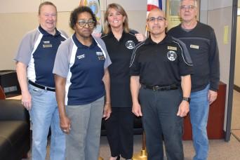 Veteran embraces new job as retirement services officer