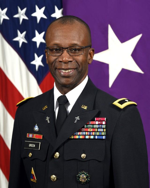 U.S. Army Brig. Gen. William Green