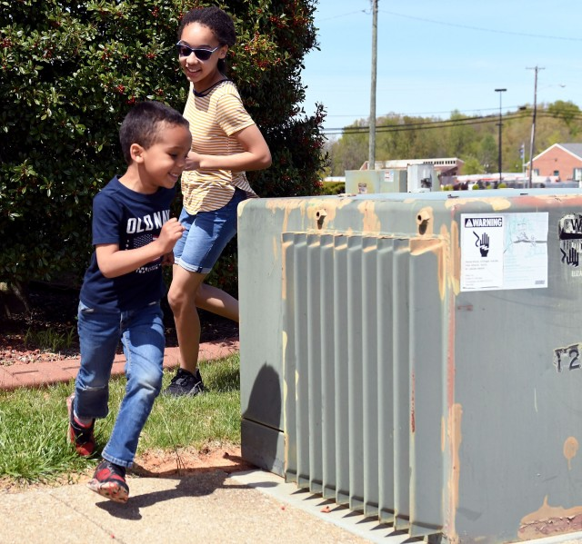 Ground transformers designed to be safe, not for child's play