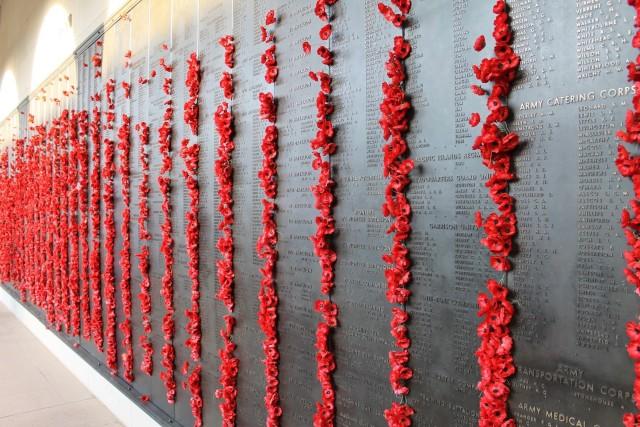 Names of the Fallen at the Australian War Memorial