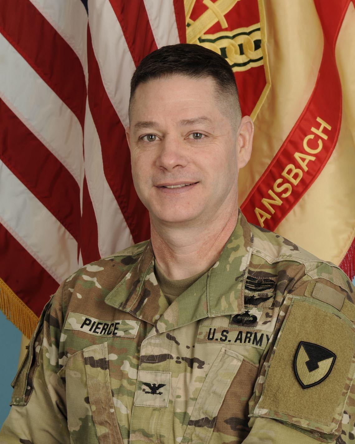 Col. Steven M. Pierce