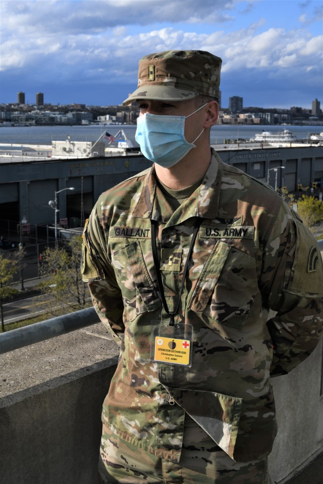 NY National Guard Soldier beats COVID-19 and joins the fight