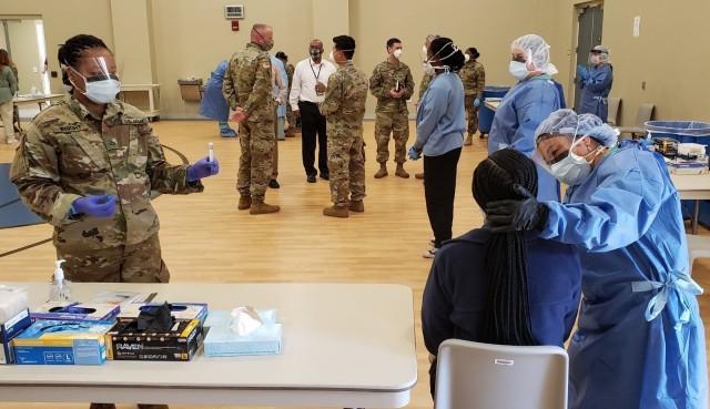 Georgia National Guard ramps up COVID-19 testing