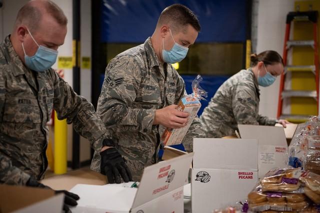 Oklahoma National Guard supporting local food banks