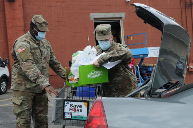 Kentucky Guard helps food banks continue serving the needy