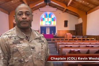 Good Friday with Chaplain (Col.) Kevin Weston and Chaplain (Maj.) Paul Lynn