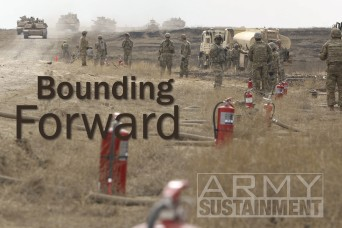 Bounding Forward: Focus on sustaining an MLRS Battalion in a Contested Environment
