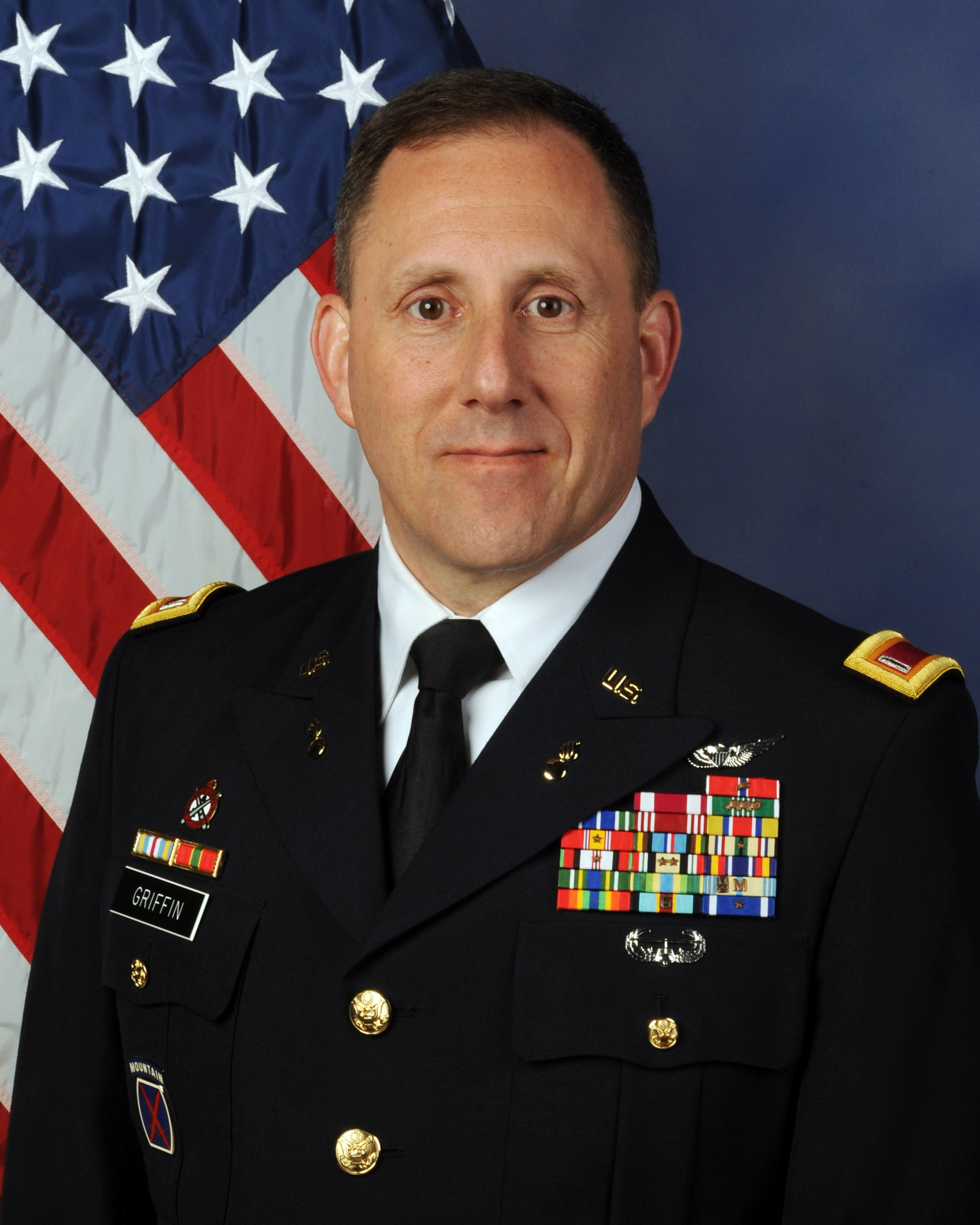 Chief Warrant Officer 5 Hal Griffin III