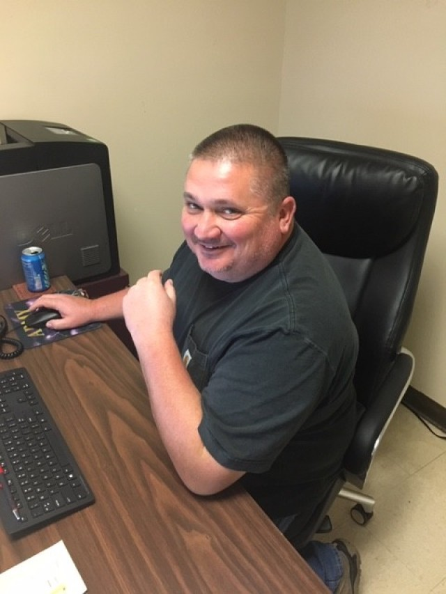 James E. Parks Jr., lead operations specialist with the Directorate of Plans, Training, Mobilization and Security, served as the lead for setting up the quarantine and isolation facilities during the early days of Fort Campbell's COVID-19 response.