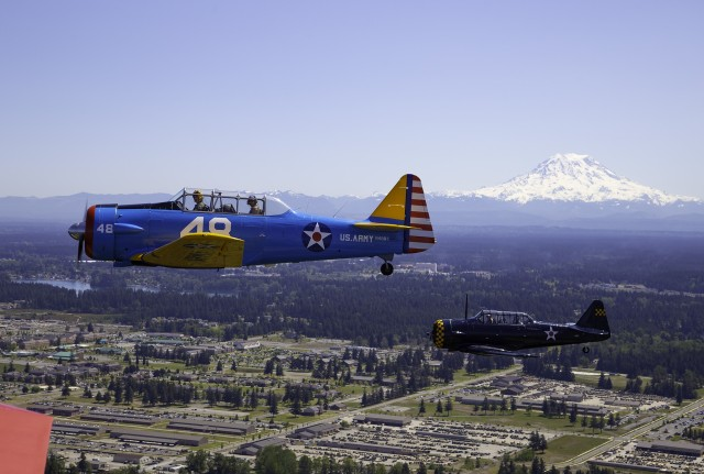 75th anniversary of VE Day flyover touches JBLM