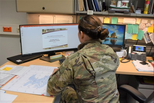 Army Public Health Nursing Regional Consultant for Public Health Command Europe