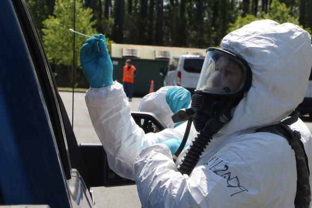 Virginia Guard strike teams boost COVID-19 testing capacity