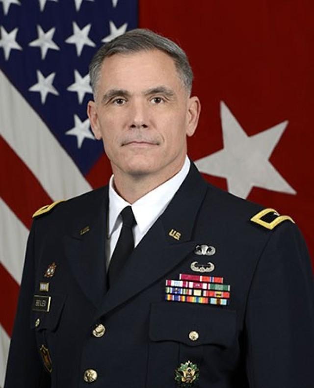 U.S. Army Brig. Gen. James Bienlien, Senior Commander, Natick Soldier Systems Center  (U.S. Army photo by Monica King)