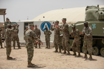 Top 30th Armored Brigade Combat Team maintenance Soldiers recognized