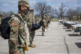 Fort Riley eases transition for new Soldiers during pandemic