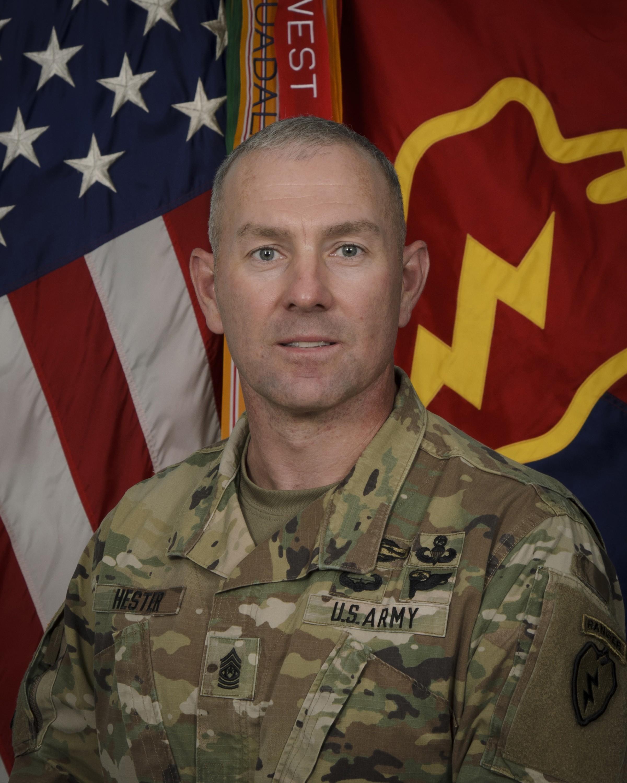 Command Sgt. Maj. Brian A Hester
