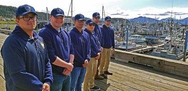 Alaska National Guard Soldiers help safeguard Kodiak Harbor