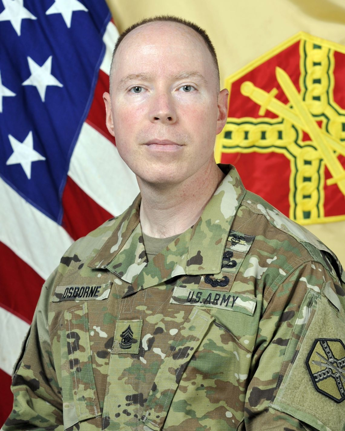 Command Sgt. Maj. Jason Osborne