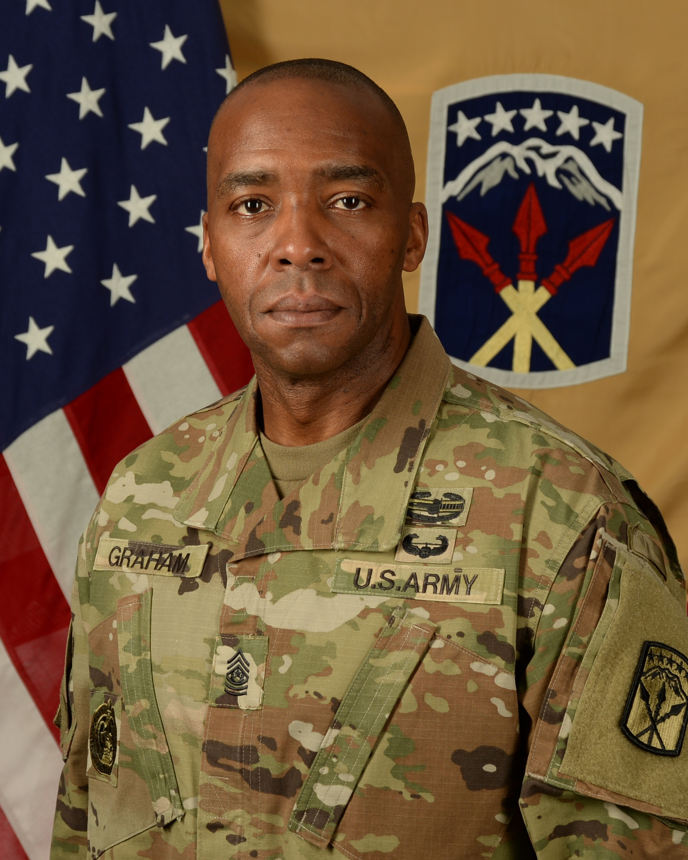 Command Sgt. Maj. Frank M. Graham Jr.