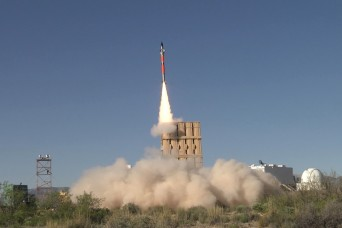Army's Iron Dome batteries inbound for testing in 2021