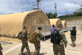 Army Reserve nurses deploy to CNMI to support COVID19 response