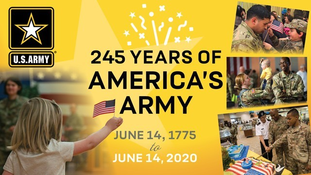 On June 14, 2020, we recognize 245 years of defending and protecting America, and salute the generations of Soldiers who have answered the call to serve.