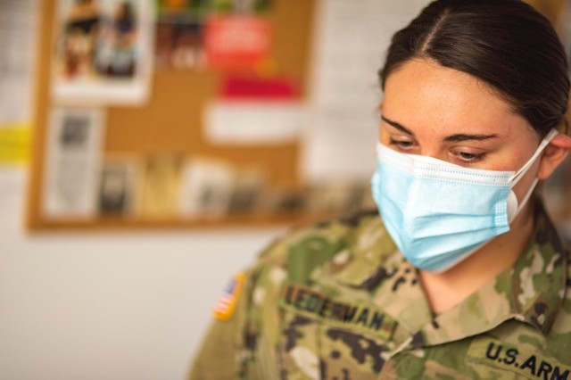 ROTC Cadet does her part to help others at Veterans Home