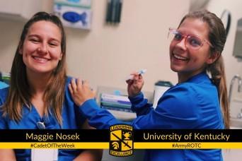 Cadet of the Week: Maggie Nosek