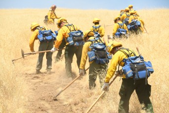 California Guardsmen prep for wildfires, despite COVID-19 crisis