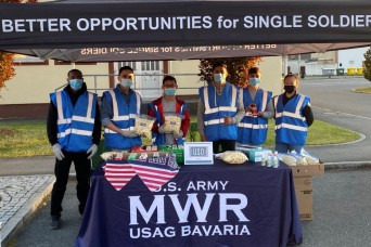 USAG Bavaria MWR serves up socially distanced fun at the drive-in