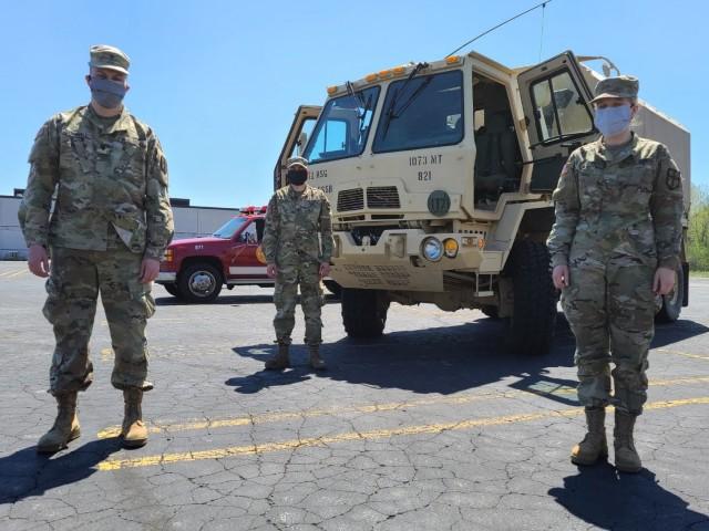 Michigan Guard helps evacuate flood victims