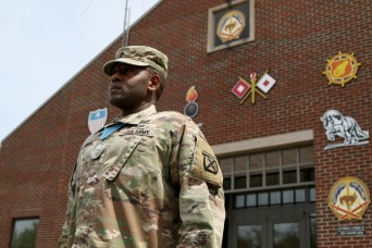10th Sustainment Brigade Soldier inducted into SAMC