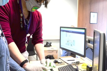 Fingerprinting services help prospective employees move into system during pandemic