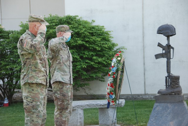 NY National Guard marks Memorial Day with special ceremony