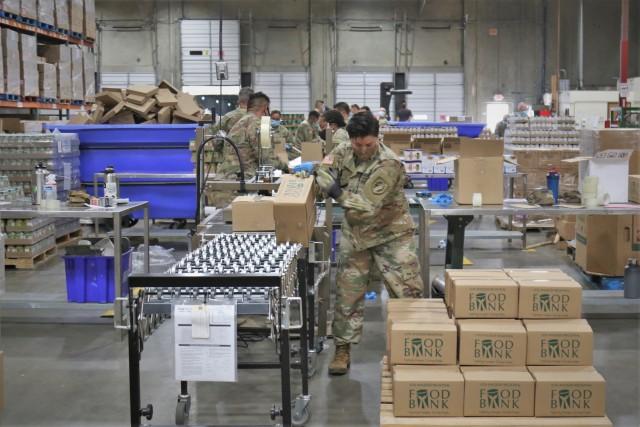 Cal Guard helps Los Angeles food bank hit milestone