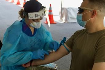 Guardsmen support antibody testing in South Florida