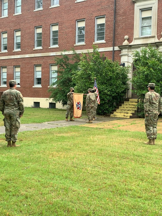 419th CSB cases colors for deployment