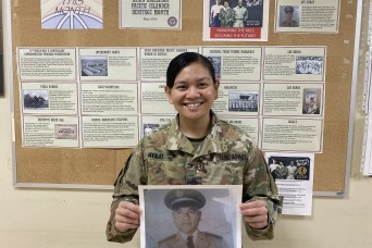 Army Reserve Soldier honors and continues grandfather's legacy