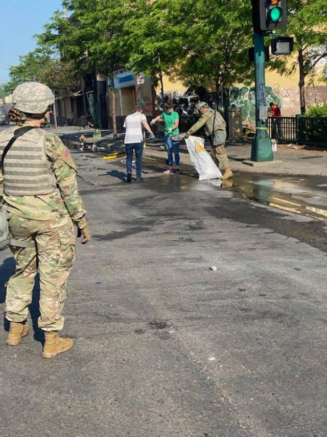 Guard members in 24 states, D.C. called up in response to civil unrest