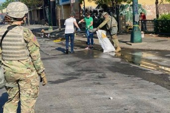 Guard members in 23 states, D.C. called up in response to civil unrest