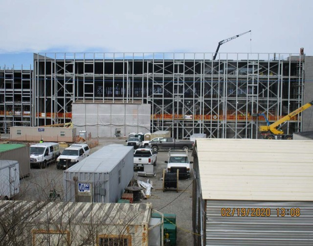 Modernized NC facility.