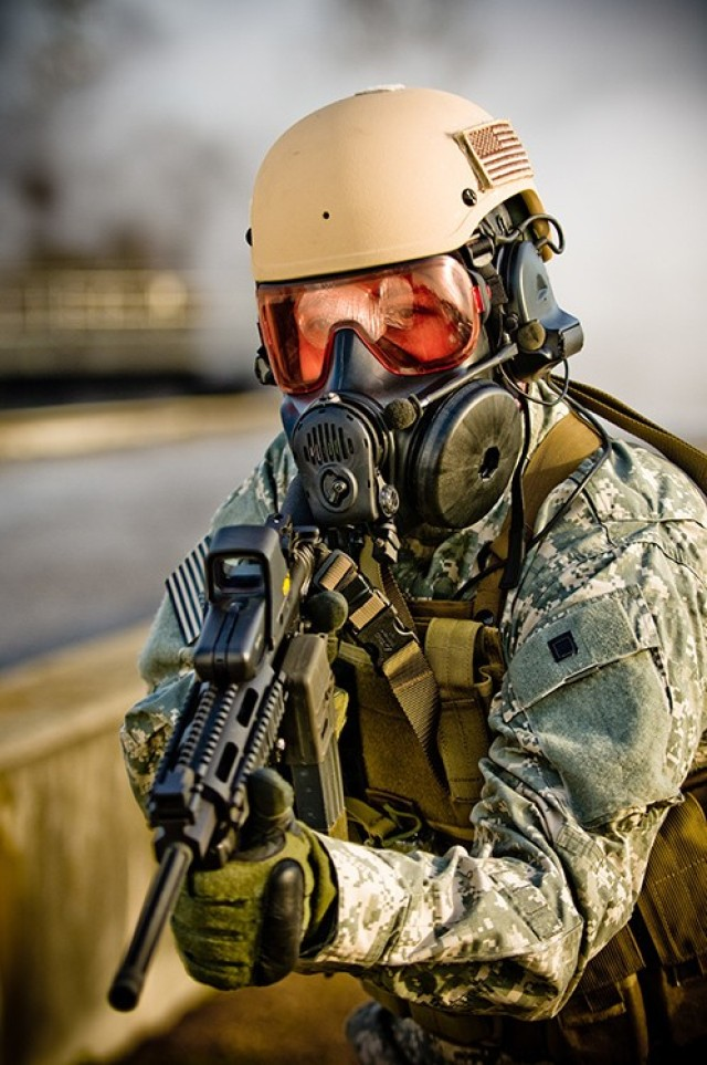 New Spec-Ops mask faces testing at DPG