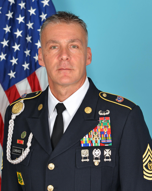 Command Sgt. Maj. Andrew Lombardo
